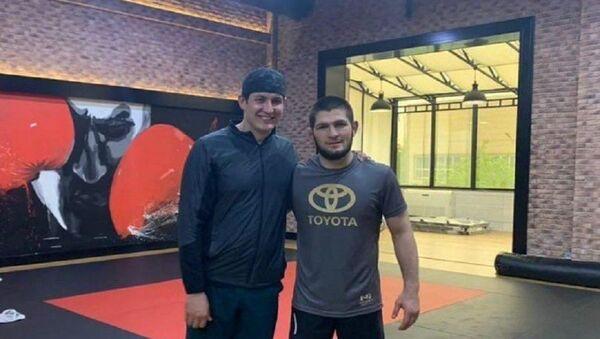 Xabib Nurmagomedov provel trenirovku s zyatem Shavkata Mirziyoyeva - Sputnik Oʻzbekiston