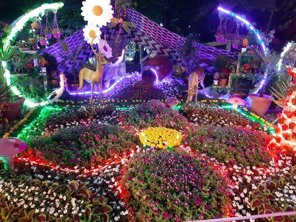 Фестиваль цветов в Намангане - Sputnik Ўзбекистон