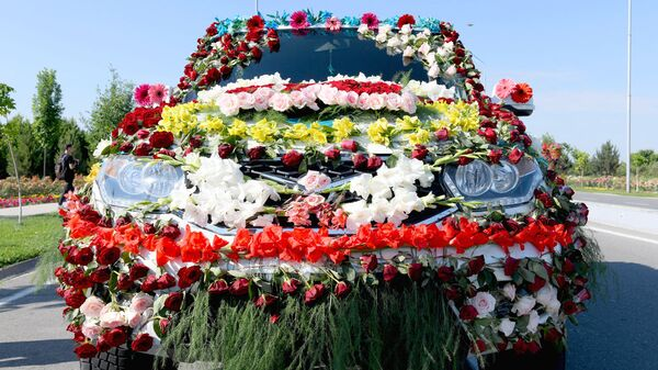 Namanganda Namangan Flowers-2019 gullar festivali boshlandi. - Sputnik Oʻzbekiston