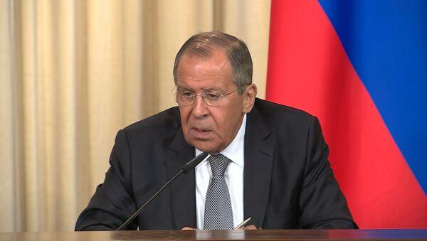 Лавров о США: всегда, когда наращивается военный потенциал, риски возрастают - Sputnik Узбекистан