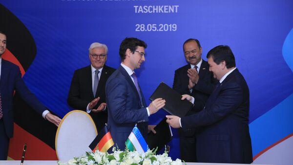 Компания Сименс и СПUz Kor-Gas Chemical заключили несколько долгосрочных контрактов - Sputnik Узбекистан
