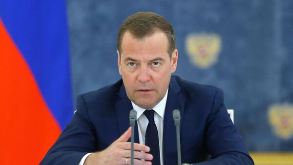 Premyer-ministr RF D. Medvedev - Sputnik Oʻzbekiston