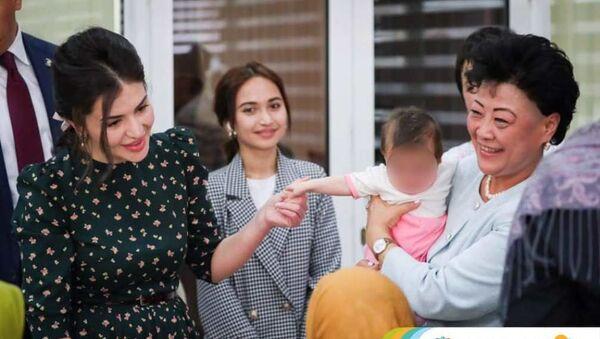 Шахноза Мирзиёева встретилась с детьми, которые вернулись из Сирии - Sputnik Ўзбекистон