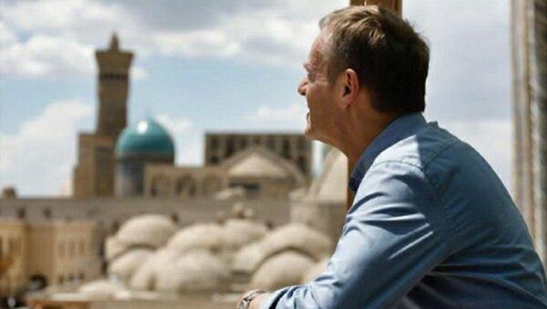 Председатель Европейского совета Дональд Туск в Узбекистане. - Sputnik Ўзбекистон