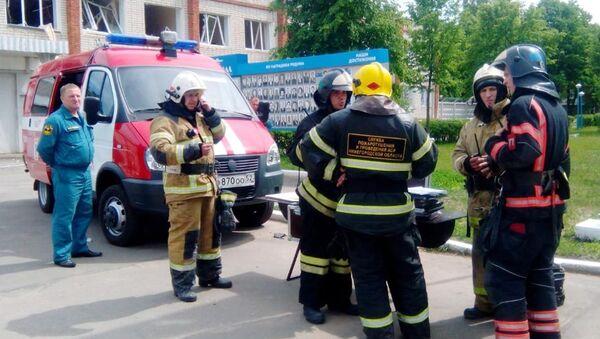Взрывы на заводе в Дзержинске - Sputnik Узбекистан