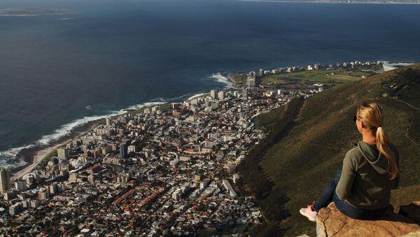 Вида на Кейптаун с горы Лайонс-Хед - Sputnik Узбекистан