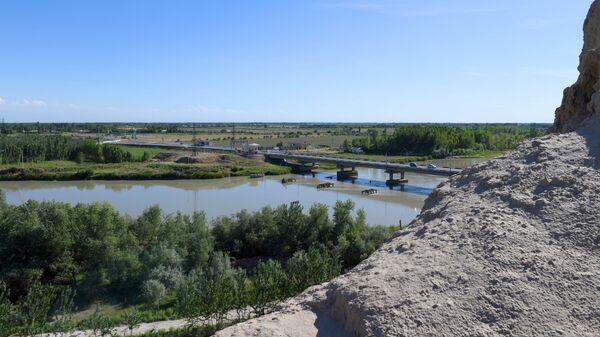 Река Сырдарья - Sputnik Узбекистан