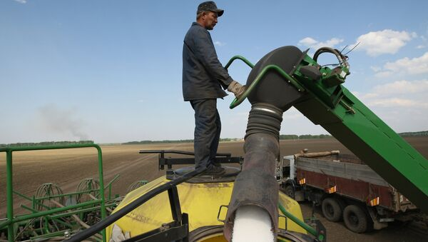 Весенне-полевые работы - Sputnik Узбекистан