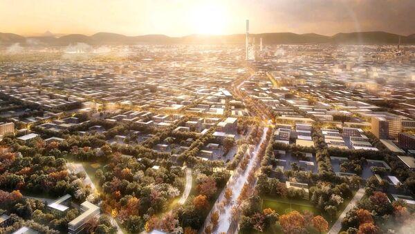 Новый Ташкент: британцы предложили уникальный проект города - Sputnik Ўзбекистон