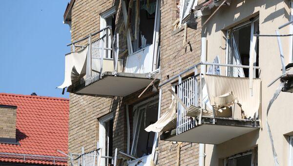 Взрыв в центре шведского города Линчёпинг - Sputnik Ўзбекистон
