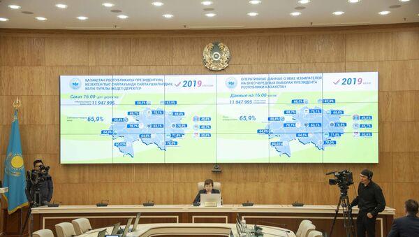 Yavka na vыborax prezidenta Kazaxstana na uje prevыsila 65% - Sputnik Oʻzbekiston