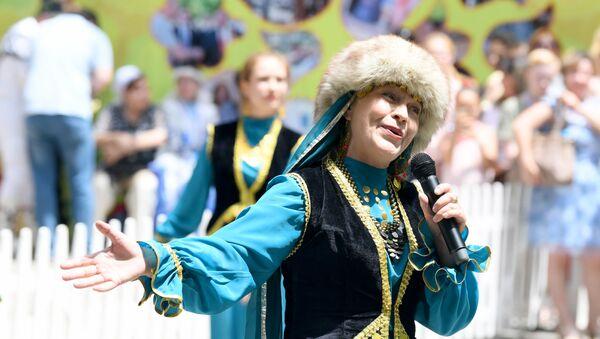 Праздник Сабантуй в центральном парке Ташкенте - Sputnik Ўзбекистон