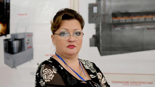 Глава представительства российского завода Восход Анжелика Семенова - Sputnik Узбекистан