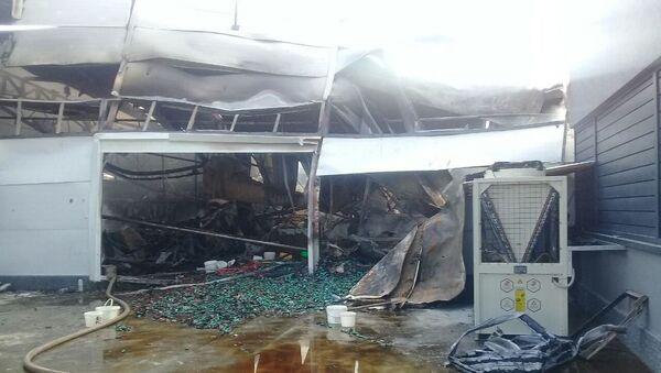 На кондитерской фабрике в Джизаке произошел пожар - Sputnik Узбекистан