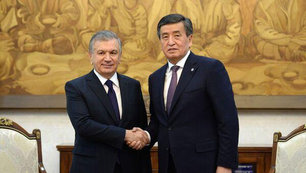 Мирзиёев провел встречу с главой Кыргызстана - Sputnik Узбекистан