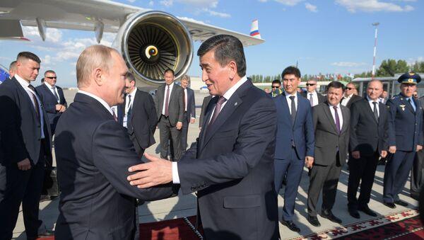 Рабочий визит президента РФ В. Путина в Киргизию - Sputnik Узбекистан