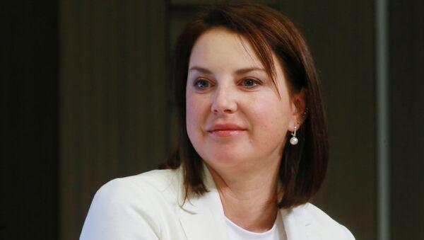 Заслуженный мастер спорт России по фигурному катанию Ирина Слуцкая - Sputnik Узбекистан