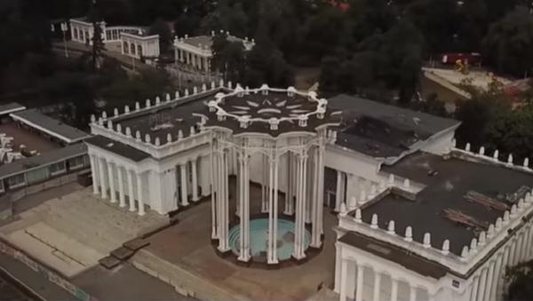 Kak restavriruyut pavilon Uzbekistana na VDNX - video - Sputnik Oʻzbekiston