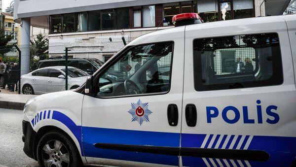 Автомобиль турецкой полиции - Sputnik Ўзбекистон