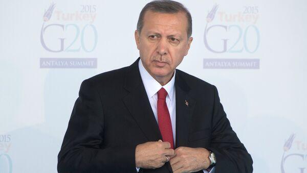 Туркия президенти Тойиб Эрдўғон. - Sputnik Ўзбекистон