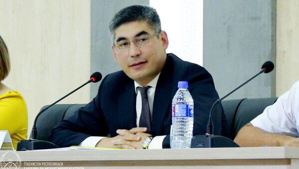 Министр занятости и трудовых отношений Узбекистана Шерзод Кудбиев - Sputnik Ўзбекистон