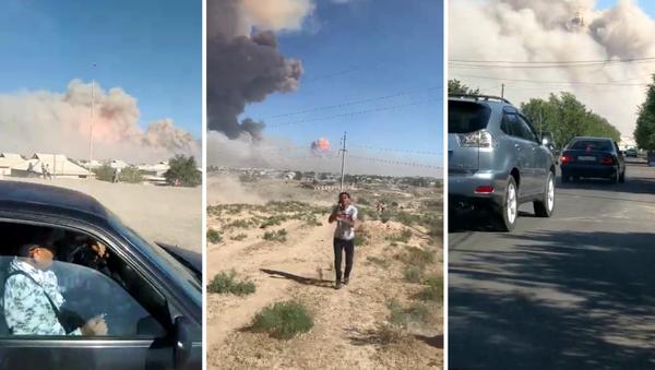 Взрыв в Арыси, Казахстан - Sputnik Узбекистан
