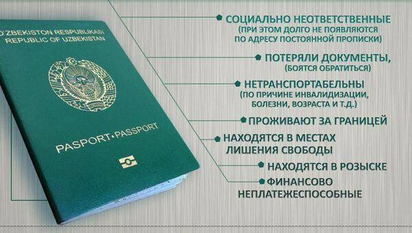 Сколько узбекистанцев не имеют биометрического паспорта - Sputnik Узбекистан