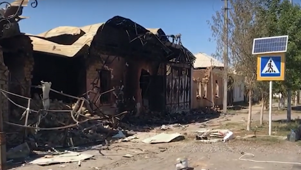 Как в фильме про конец света: последствия взрывов в Казахстане - видео - Sputnik Ўзбекистон