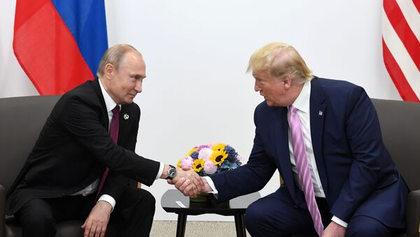 Рабочий визит президента РФ В. Путина в Японию для участия в саммите Группы двадцати - Sputnik Ўзбекистон