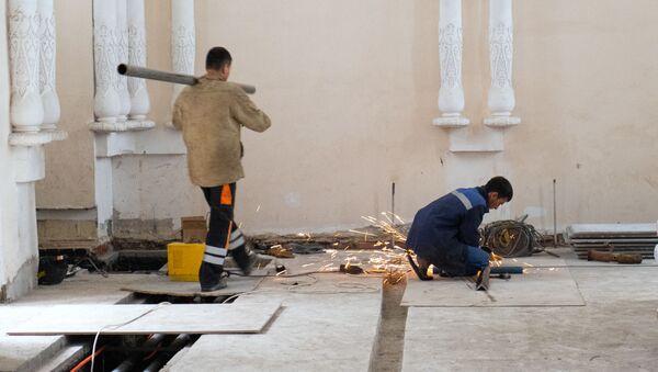 Реконструкция павильона № 66 ВДНХ в Москве - Sputnik Узбекистан