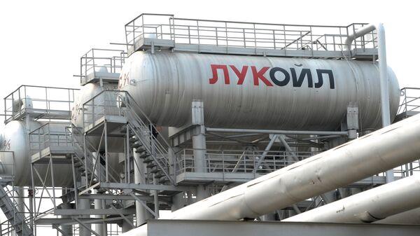 Lukoyl kompaniyasi zavodi - Sputnik Oʻzbekiston
