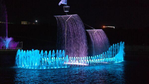 Музыкальный фонтан в Намангане - Sputnik Ўзбекистон