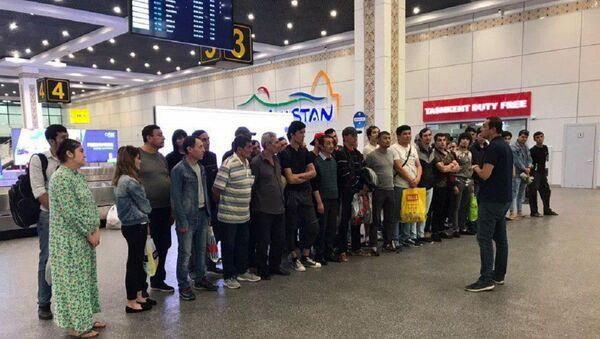 В Узбекистане надеются на выдачу патентов для мигрантов в регионах РФ - Sputnik Узбекистан