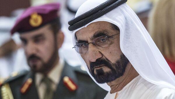 Премьер-министр ОАЭ, правитель Дубая шейх Мохаммед бен Рашид Аль Мактум - Sputnik Ўзбекистон