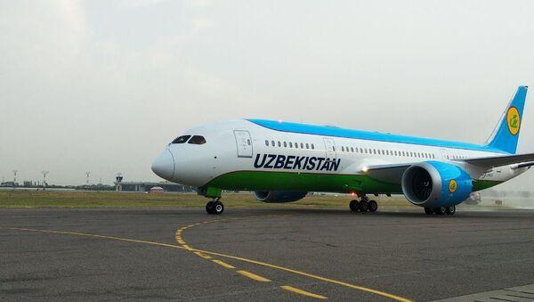 Uzbekskiye avialinii poluchili pyatыy Boeing 787-8 Dreamliner - Sputnik Oʻzbekiston