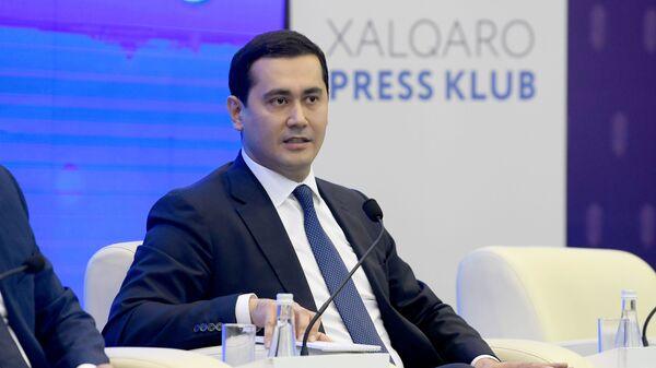Министр инвестиций и внешней торговли Узбекистана Сардор Умурзаков  - Sputnik Ўзбекистон