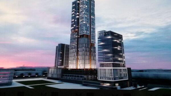 Proyekt zdaniya  MDTS Tashkent Siti - Sputnik Oʻzbekiston