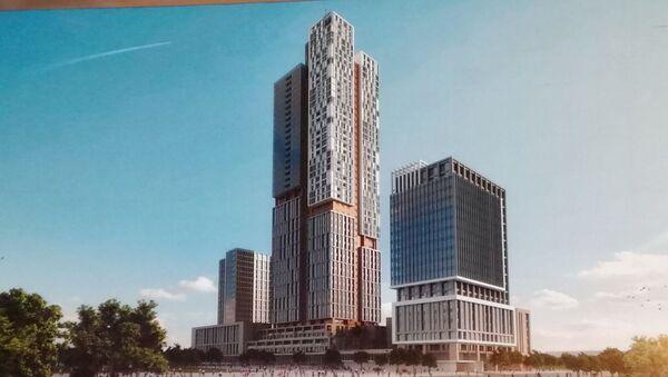 Выдержит ли землетрясение небоскреб Tashkent City — ответ Murad Buildings - Sputnik Узбекистан