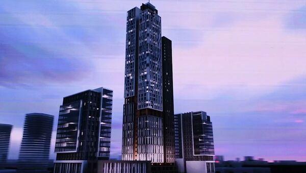 Презентация самого высокого в ЦА небоскреба в МДЦ Tashkent City - Sputnik Узбекистан