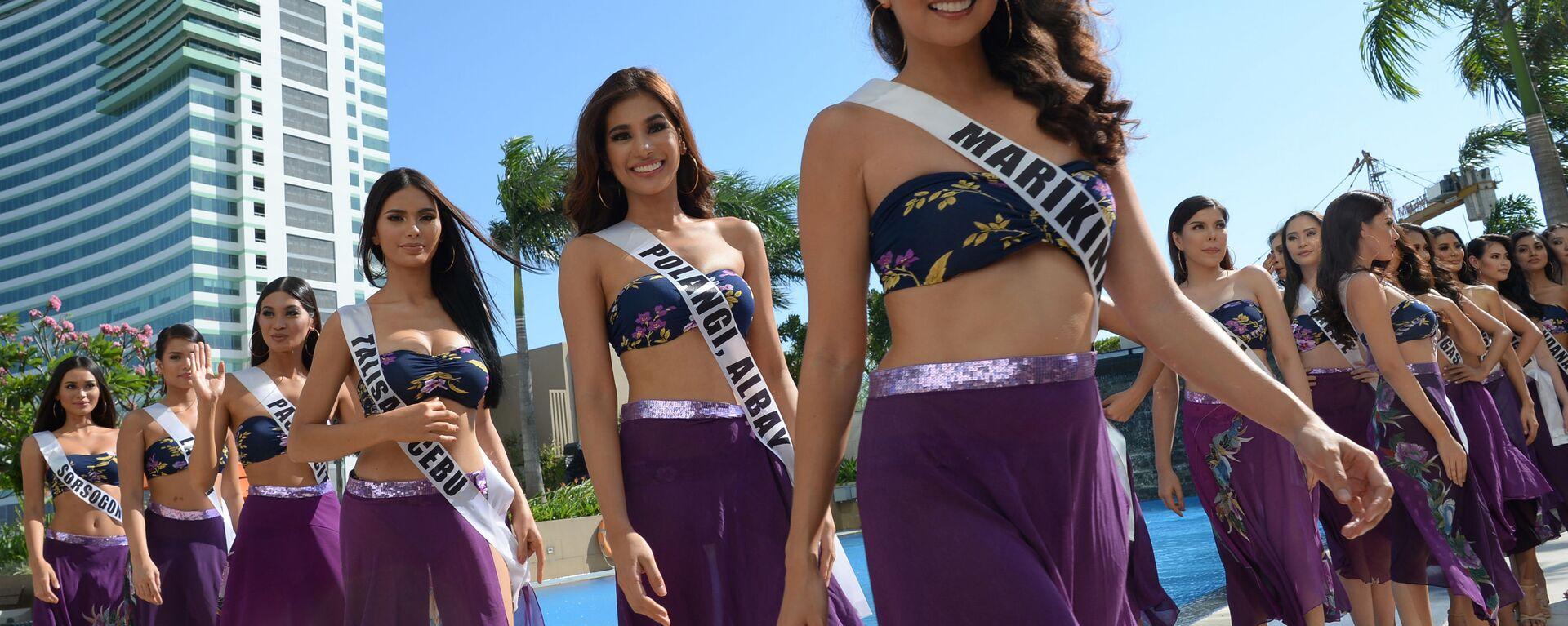 Кандидатки на титул Мисс Филиппины, Манила - Sputnik Ўзбекистон, 1920, 06.05.2021