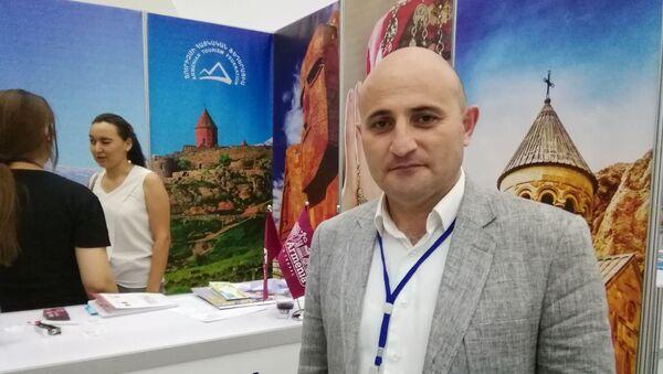 Президент Федерации туризма Армении Мехак Апресян - Sputnik Ўзбекистон