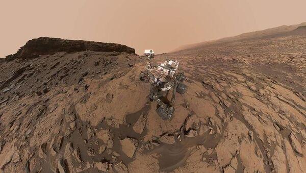 Марсианский пейзаж - Sputnik Ўзбекистон