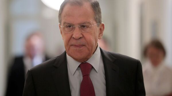 Визит главы МИД РФ С. Лаврова в Словакию - Sputnik Узбекистан