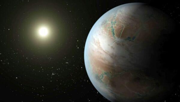 Kak vыglyadit kuzina Zemli Kepler 452b iz sozvezdiya Lebedya. Animatsiya NASA - Sputnik Oʻzbekiston