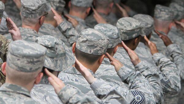 Военнослужащие ВВС США - Sputnik Узбекистан