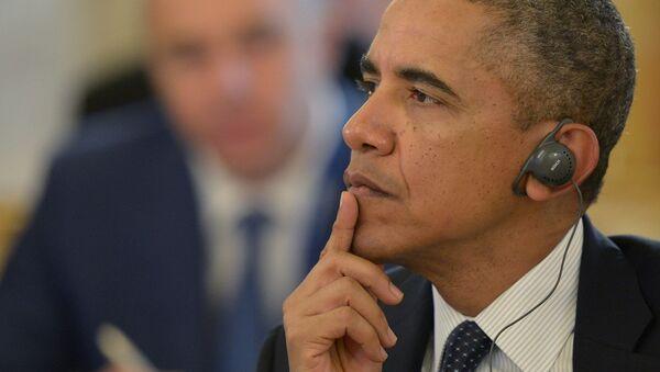 АҚШ президенти Барак Обама. - Sputnik Ўзбекистон