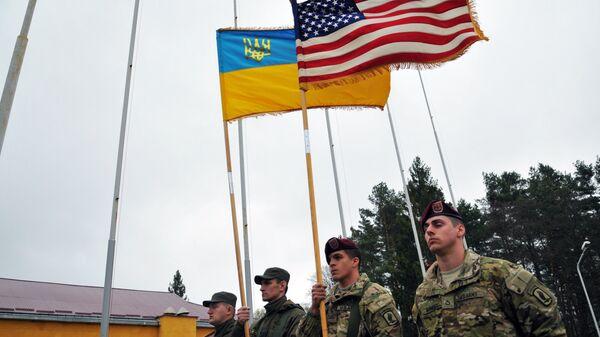 Военные учения, Украина - Sputnik Узбекистан