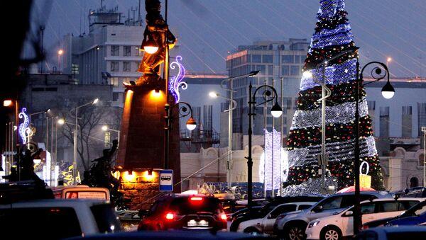 Prednovogodniy Vladivostok - Sputnik Oʻzbekiston
