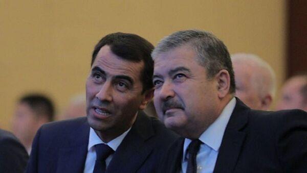 Абдусалом Азизов и Равшан Ирматов - Sputnik Узбекистан