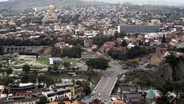 Исторический центр в Тбилиси. - Sputnik Узбекистан